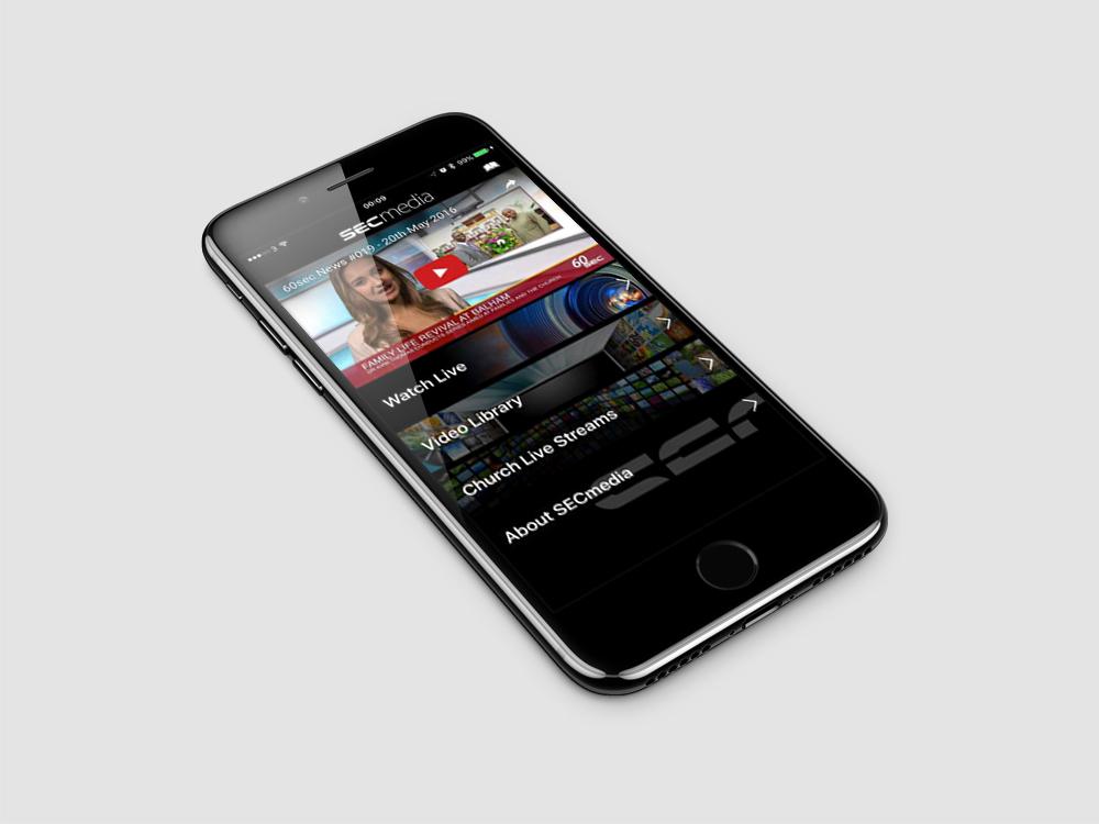 SECmedia iOS App