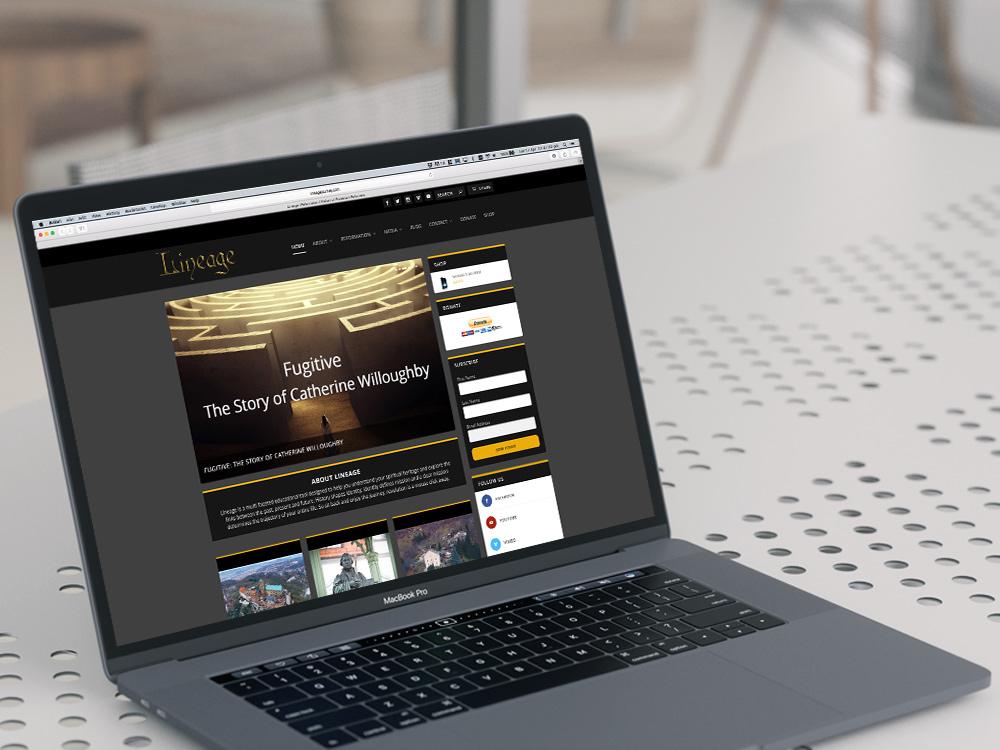 Lineage Journey Website