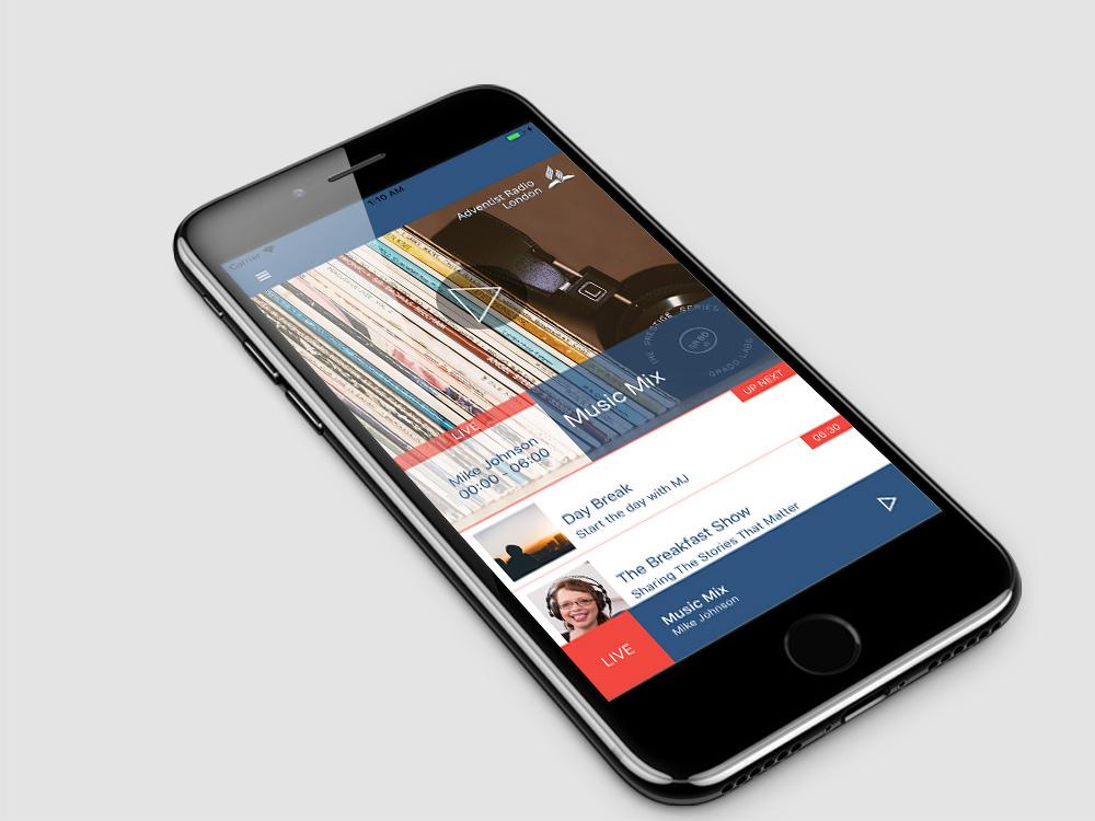 Adventist Radio London iOS App